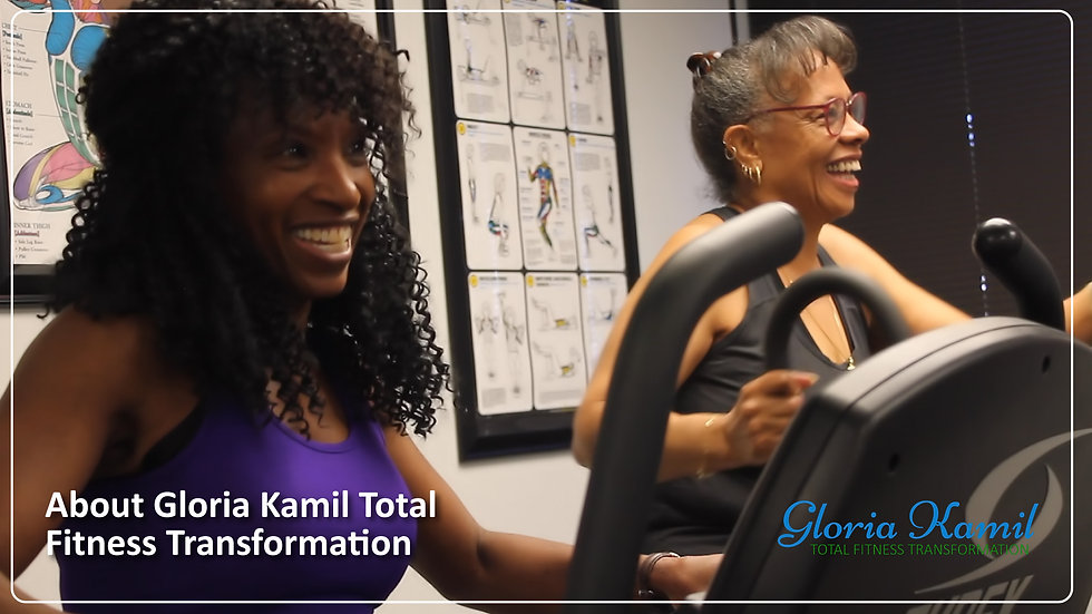 Gloria Kamil Total Fitness Transformation Promotional Video