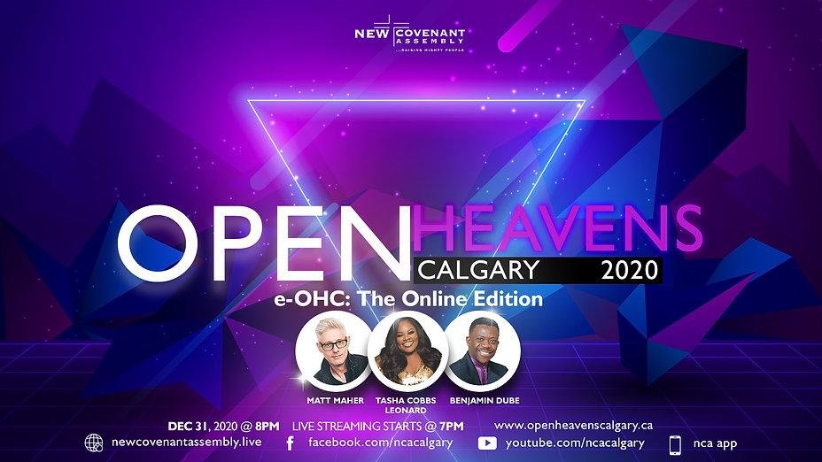 e-Open Heavens Calgary 2020: The Online Edition