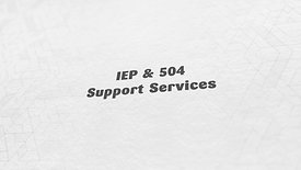 IEP & 504 Support Services