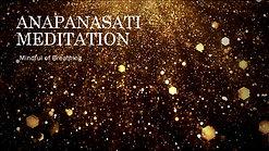 Anapanasati Video