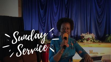Sunday Service   May 16th 2021