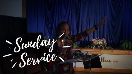 Sunday Service   May 30th 2021