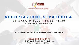 Video- Presentazione del corso di negoziazione strategica