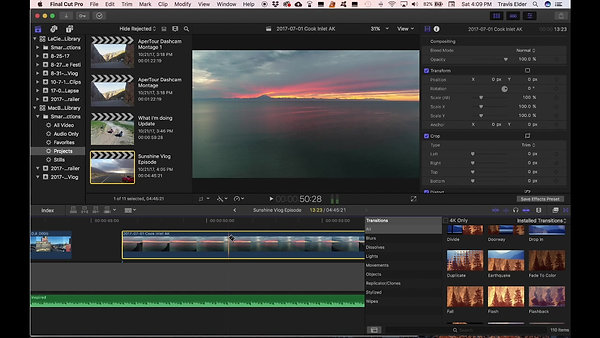 Post Production Editing Clip