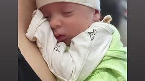 Baby in Star Bag Set