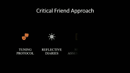 video about critical friend approach