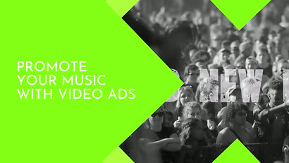 promote your music with video ads