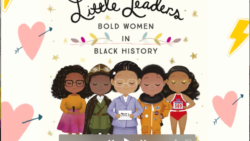 """""""LITTLE LEADERS Bold Women in Black History"""" (Feb) WOMEN'S HISTORY MONTH (Mar)"""