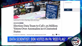 90000 Ghost votes Appear in PA