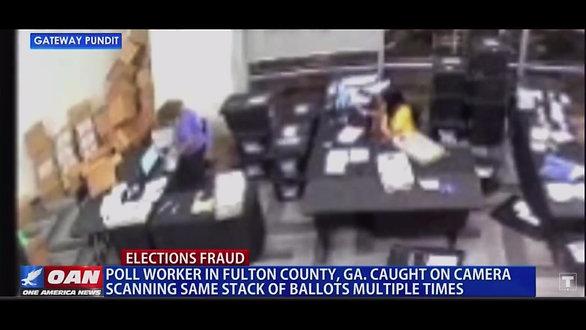 Georgia Election Fraud - Election Day Nov 2020