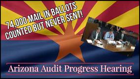 AZ Audit Hearing Update / 74,000 Ballots Cast But Never Sent