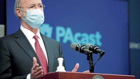 Governor Wolf Of PA / PPE Scandal / Impeachment
