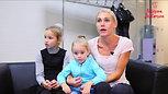 Наталья Кузнецова, дочь Ксения (4 года) и племянница Ульяна Кузнецова (9 лет)