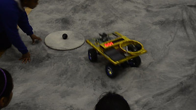 Our Moon Rover in action!