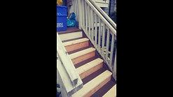 Exterior stairs rebuild