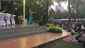 """IMAO 2017 final concert in Bangkok with Royal Symphony Orchestra. Excerpt from Saint Saens """"Delilah aria"""". Anna Matis, conductor Richard Barrett."""