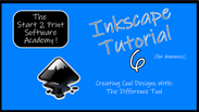 Inkscape 6 the difference tool