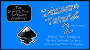 Inkscape Tutorial 2