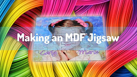 Make a Sublimation MDF Jigsaw from scratch!
