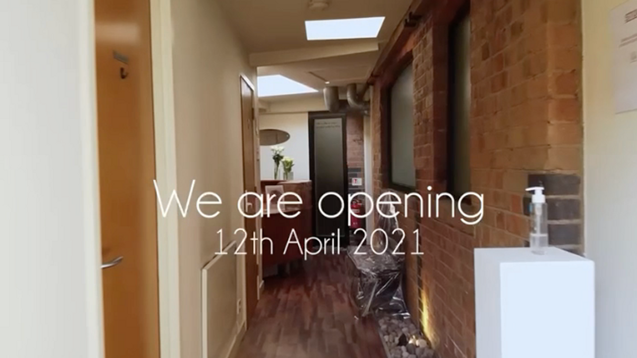 Reopening April 12th 2021
