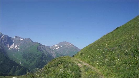 Tbilisa and Buba Glaciers