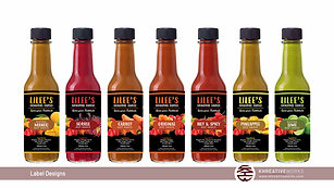 Labels Reveal Video for Lilee's Signature Sauces