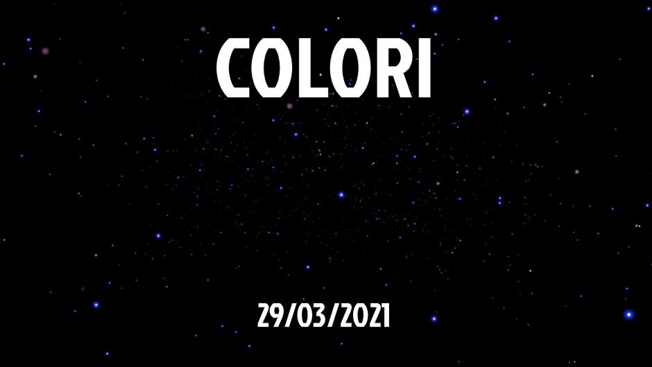 COLORI - 29/03/2021