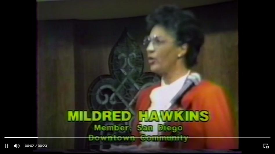 Mildred Hawkins