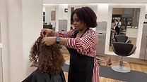 Curl cutting Process