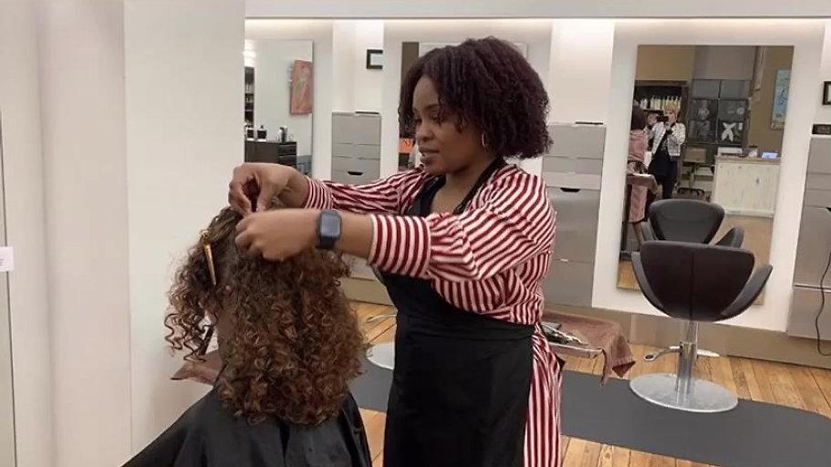 Curl cutting Process