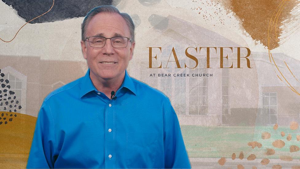 Pastor David Welch's Easter Invitation