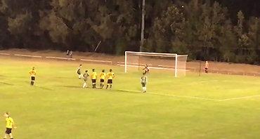 Mitch Clarke Penalty - Grandstand