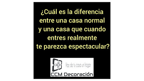 Presentación CCM Decoración