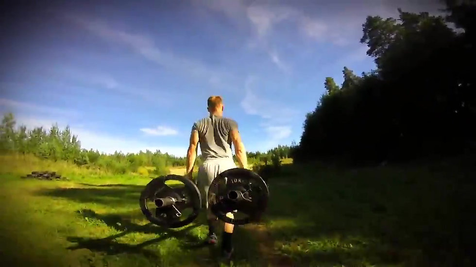 Caveman Training 2014