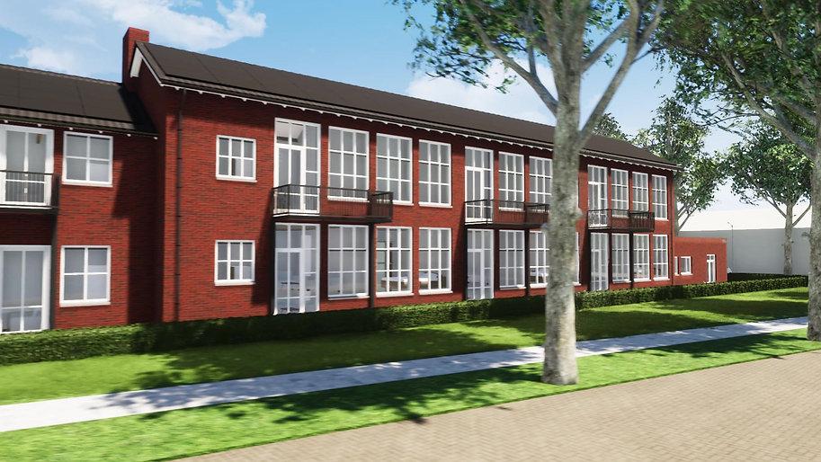 verbouwing School en nieuwbouw woningen te Rijen