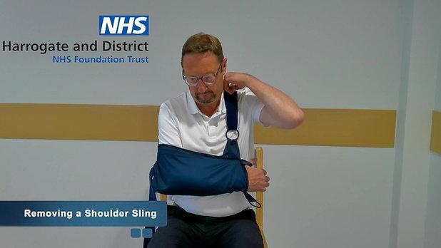 Using a Shoulder Sling