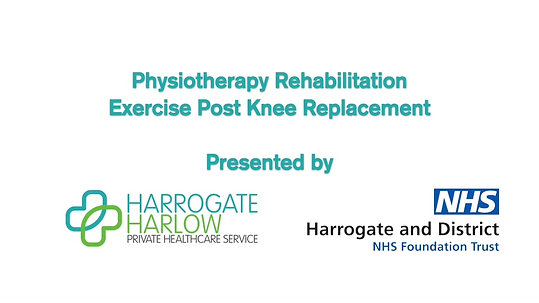 Knee Replacement Exercise