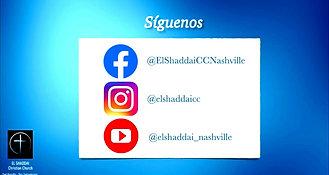 El Shaddai Nashville - Servicio 05/23/2021