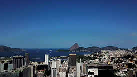 getting up from the top of a church reveals sugar loaf