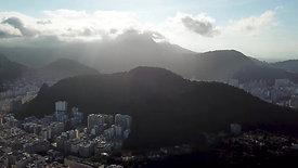 pan shot of the main neighborhoods of Rio de Janeiro