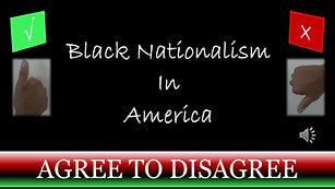 Black Nationalism In America