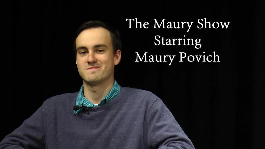This Isn't Maury!