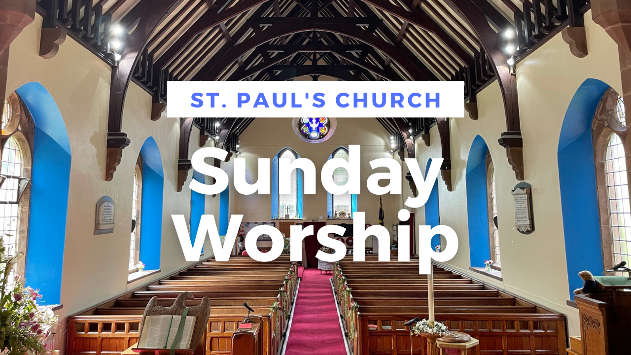 Sunday Worship 24th October 2021: Bible Sunday