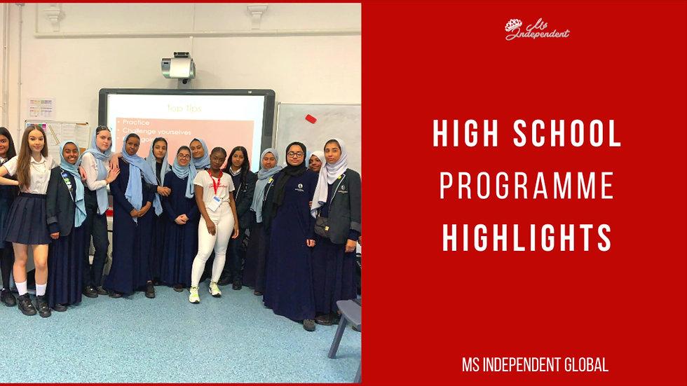 Programmes in Secondary Schools