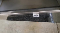Sliding lid truck toolbox with handle, stainless recovery trailer side locker