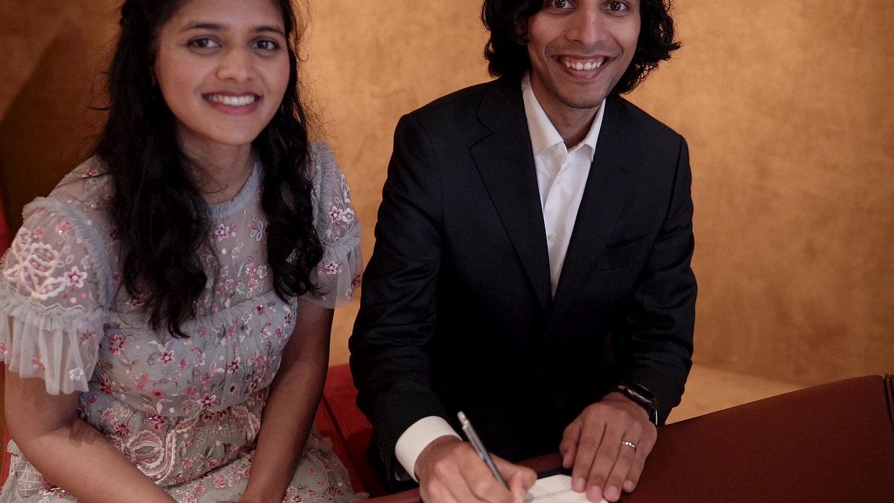 Divya & Anuj