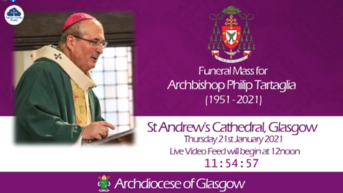Funeral Mass for Archbishop Philip Tartaglia