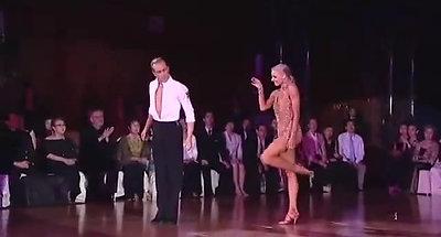 Yulia & Riccardo Rumba WSSDF 2014