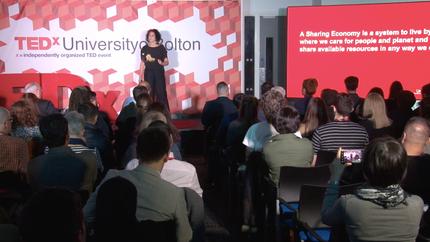 Benita  Matofska TEDxBolton