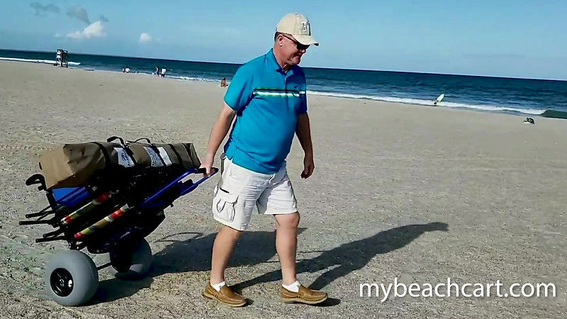 mybeachcart demo video